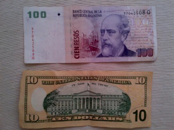 Llegó a $10 el dólar blue (hay otro?)