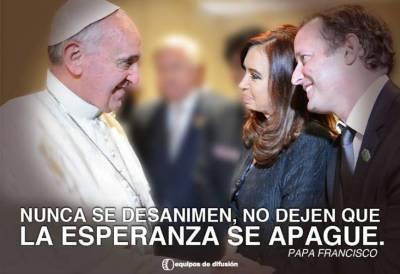 El Papa en campaña
