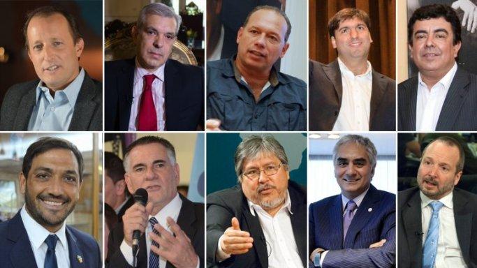 Candidatos del FPV en B.A.