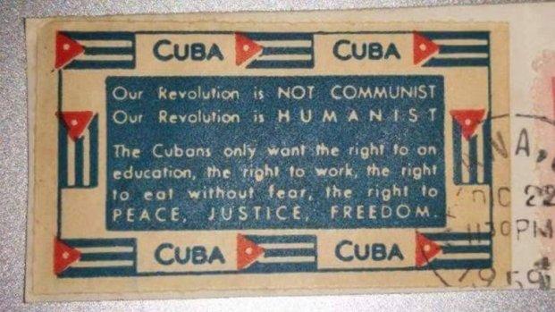 Estampilla cubana